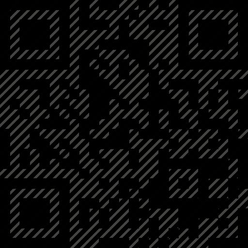 barcode, qr code, qr-code icon