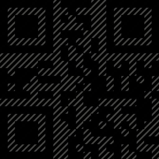 qr, qr code, read qr, scan qr icon
