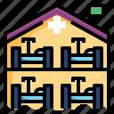 cautious, emergency, healthcare, hospital, quarantine, secutiry, separation