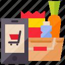buy, cart, ecommerce, online, quarantine, shopping, shopping online icon