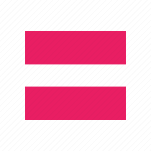 equality, equals, lgbt, lgbtq, queer, sign icon