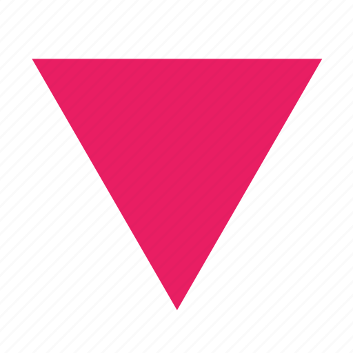 inverted, lgbt, lgbtq, pink, queer, triangle icon