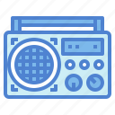 communication, radio, tabletop, technology icon