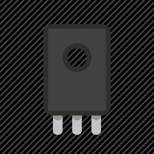 component, detail, diod, radio icon