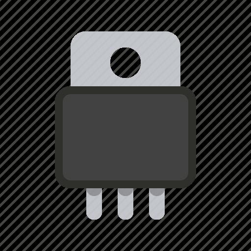 diod, radio, transistor icon