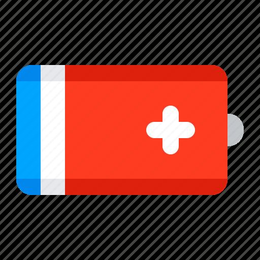 accumulator, battery, electricity, radio icon