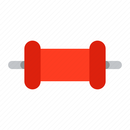 capacitor, component, detail, radio, red, small icon