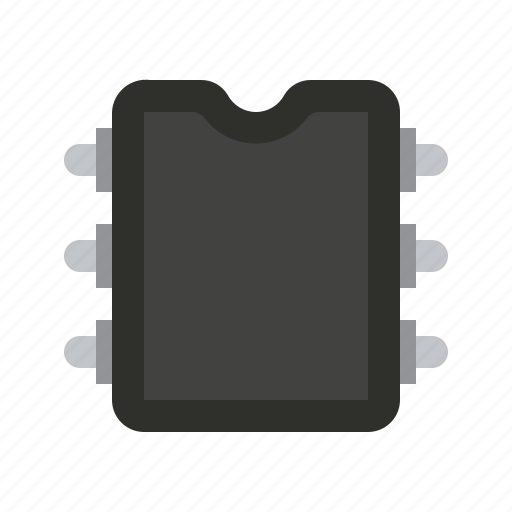 chip, component, detail, memory, radio icon