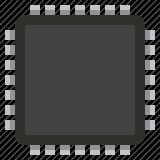 chip, component, detail, memory, radio, square icon