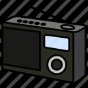 antenna, device, music, news, radio