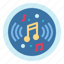 interface, multimedia, music, player icon