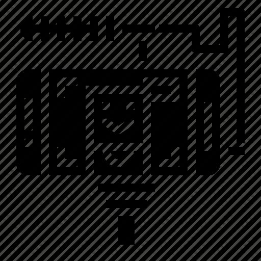 communications, live, news, technology icon
