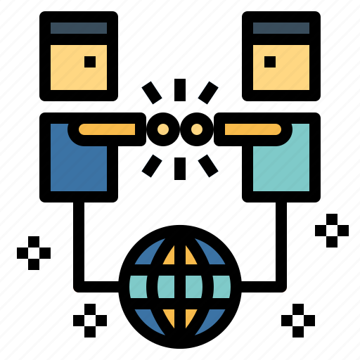 Communication, connection, network, social icon - Download on Iconfinder