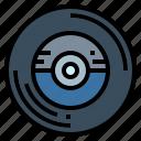 audio, music, record, vinyl icon