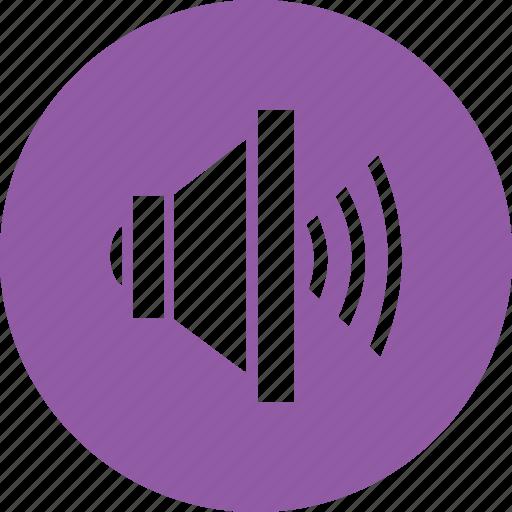 full, player, sound, volume icon