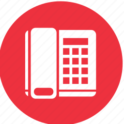 call, communication, contact, home, office, phone icon
