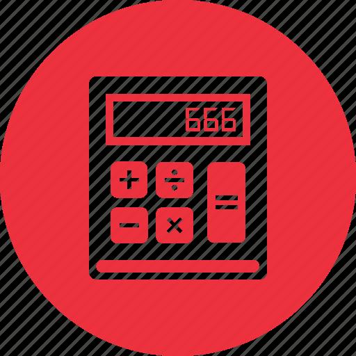 calculation, calculator, math, school icon