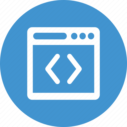 browser, code, navigator, programming icon