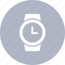 clock, date, hand, watch icon