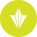 aircraft, arrow, bottom, direction, down icon