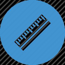 design, rule, ruler, school, tools icon