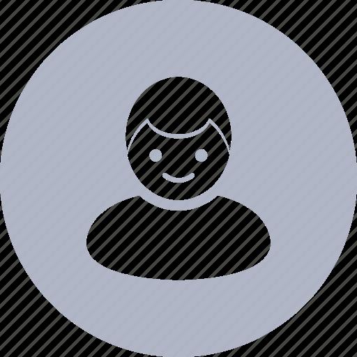 account, boy, profile, user icon
