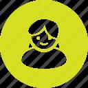 account, avatar, girl, profile, user