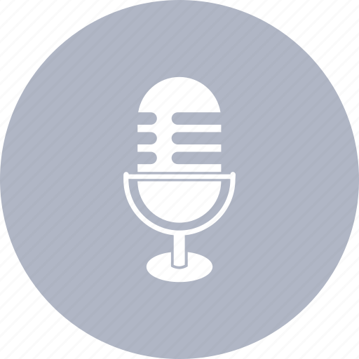 micro, microphone, radio icon