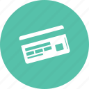 card, credit, online, pay, payment, shopping icon