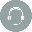 audio, center, communication, conversation, headphone, help, support icon