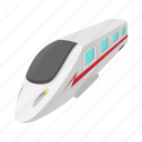 cartoon, modern, railway, technology, train, transportation, wagon icon