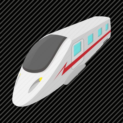 cartoon, modern, railway, technology, train, transportation, wagon icon