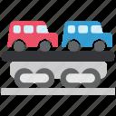 car, logistics, railway, shipping, train, transport, transportation icon