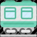 railway, train, transport, transportation, travel, wagon icon