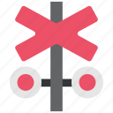 railway, road sign, sign, stop, train, transportation, truck icon