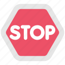 auto, railway, sign, stop, train, transport, transportation icon