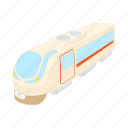 cartoon, modern, railway, train, transportation, wagon icon