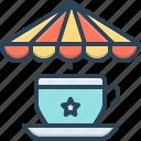 cafe, cup, cup of tea, freshness, hot, tea, tea stall