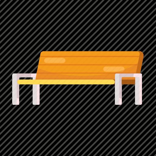 Bench, interior, rest, station icon - Download on Iconfinder