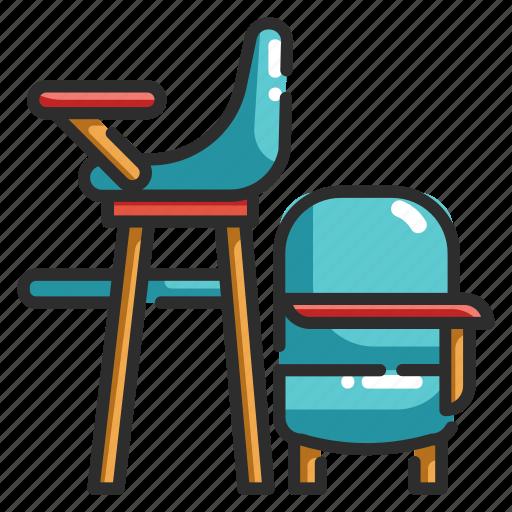 baby, chair, child, kid, seat, sitting icon