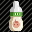 milk, bottle, baby, pacifier, drink, kid, child
