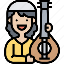 oud, musical, instrument, string, arabic
