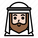 avatar, ghutra, islam, male, man, muslim, ramadan icon