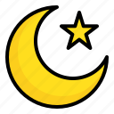 crescent, islam, moon, muslim, ramadan, star