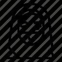 avatar, face veil, female, islam, muslim, niqab, woman