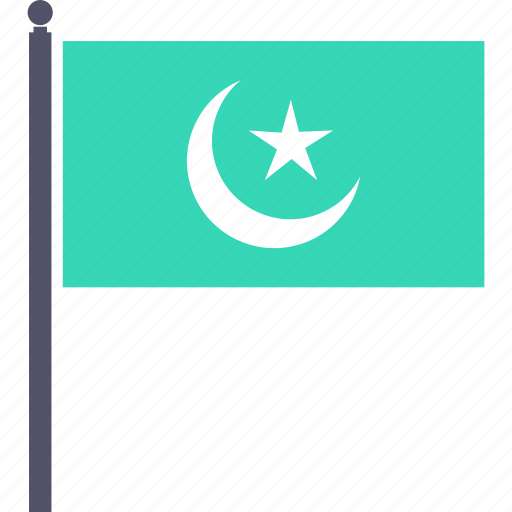 celebrate, crescent, festival, flag, islam, ramadan, ramzan icon