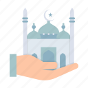 fort, islam, mosque, prayer, ramadan, salat, tomb icon