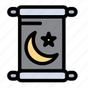 holy, invitation, ramadan icon