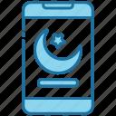 smartphone, mobile, ramadan, muslim, islam
