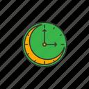 clock, night, sahur icon